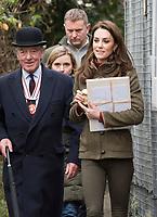 Duchess of Cambridge visits King Henry's Walk Garden
