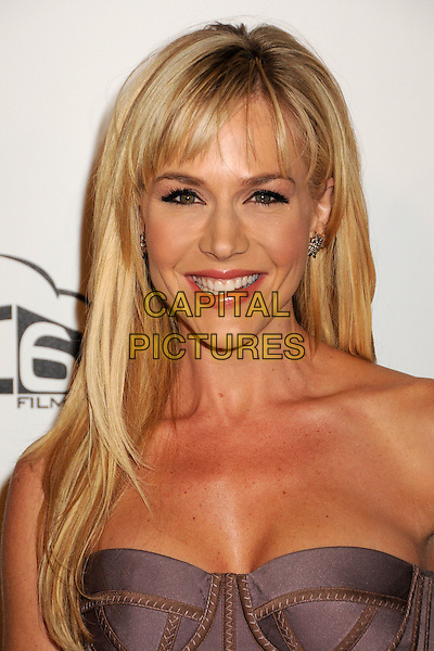 """JULIE BENZ.""""The Boondock Saints II: All Saints Day"""" Los Angeles Premiere held at Arclight Cinemas, Hollywood, California, USA..October 28th, 2009.headshot portrait strapless purple corset lilac .CAP/ADM/BP.©Byron Purvis/AdMedia/Capital Pictures."""