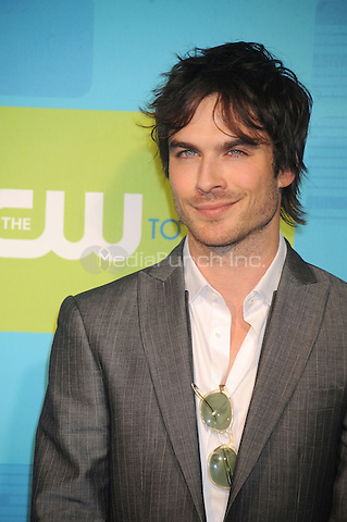 Ian Somerhalder at the 2010 CW Upfront Green Carpet Arrivals at Madison Square Garden in New York City. May 20, 2010.Credit: Dennis Van Tine/MediaPunch