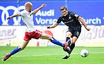 0:2 Tor, v.l. Rick van Drongelen (HSV), Torschuetze Kevin Behrens (Sandhausen)<br />Hamburg, 28.06.2020, Fussball 2. Bundesliga, Hamburger SV - SV Sandhausen<br />Foto: Tim Groothuis/Witters/Pool//via nordphoto<br /> DFL REGULATIONS PROHIBIT ANY USE OF PHOTOGRAPHS AS IMAGE SEQUENCES AND OR QUASI VIDEO<br />EDITORIAL USE ONLY<br />NATIONAL AND INTERNATIONAL NEWS AGENCIES OUT