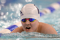 Picture by Richard Blaxall/SWpix.com - 14/04/2018 - Swimming - EFDS National Junior Para Swimming Champs - The Quays, Southampton, England - William Whitehead of Rotherham in action during the Men's Open 100m Breaststroke