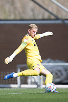 David Cornell of Northampton Town during Colchester United vs Northampton Town, Sky Bet EFL League 2 Football at the JobServe Community Stadium on 24th August 2019