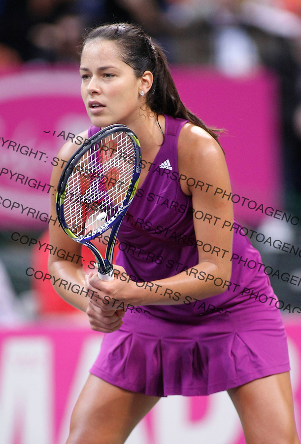 Tenis, FED CUP, world group B.Serbia Vs. Japan.Ana Ivanovic Vs. Ai Sugiyama.Ana Ivanovic.Beograd, 07.02.2009. .Photo: © Srdjan Stevanovic/Starsportphoto.com