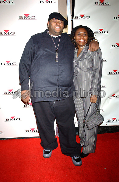 Feb. 8, 2004; Hollywood, CA, USA; Singer REUBEN STUDDARD and mother during the BMG 46th Annual Grammy Awards Post-Grammy Gala Celebration held at The Avalon. Mandatory Credit: Photo by Laura Farr/AdMedia. (©) Copyright 2003 by Laura Farr