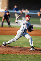 July 27, 2009:  Pitcher Clayton Cook of the Mahoning Valley Scrappers during a game at Dwyer Stadium in Batavia, NY.  Mahoning Valley is the NY-Penn League Short-Season Class-A affiliate of the Cleveland Indians.  Photo By Mike Janes/Four Seam Images