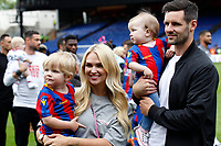 Scott Dann of Crystal Palace and his family during the EPL - Premier League match between Crystal Palace and West Bromwich Albion at Selhurst Park, London, England on 13 May 2018. Photo by Carlton Myrie / PRiME Media Images.