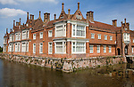 Historic moated country house of Helmingham Hall, Suffolk, England