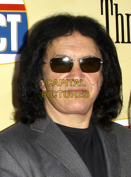GENE SIMMONS.Attending 'Extract' Los Angeles Premiere held A The Arclight Theatre, Hollywood, California, USA, .24th August 2009..portrait headshot sunglasses grey gray black  .CAP/ADM/KB.©Kevan Brooks/AdMedia/Capital Pictures.