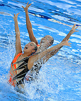 Roma 20th July 2009 - 13th Fina World Championships From 17th to 2nd August 2009..Rome (Italy) 20 07 2009..Synchronized swimming - Technical duet preliminaries..Team Japan......photo: Roma2009.com/InsideFoto/SeaSee.com