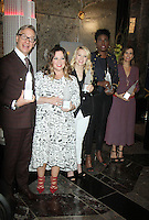 NEW YORK, NY-July 12: Paul Feig Melissa McCarthy, Kate Mckinnon, Leslie Jones, Kristen Wiig at Gilda's Club & Ghostbuster Cast Lighting  at Empire State Building  in New York. NY July 12, 2016. Credit:RW/MediaPunch