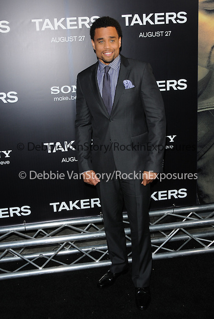 Michael Ealy at the Screen Gems' World Premiere of Takers held at The Arclight Theatre in Hollywood, California on August 04,2010                                                                               © 2010 Debbie VanStory / Hollywood Press Agency