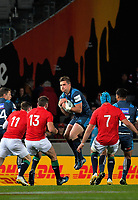 Michael Collins takes the kickoff during the 2017 DHL Lions Series rugby union match between the Blues and British & Irish Lions at Eden Park in Auckland, New Zealand on Wednesday, 7 June 2017. Photo: Dave Lintott / lintottphoto.co.nz