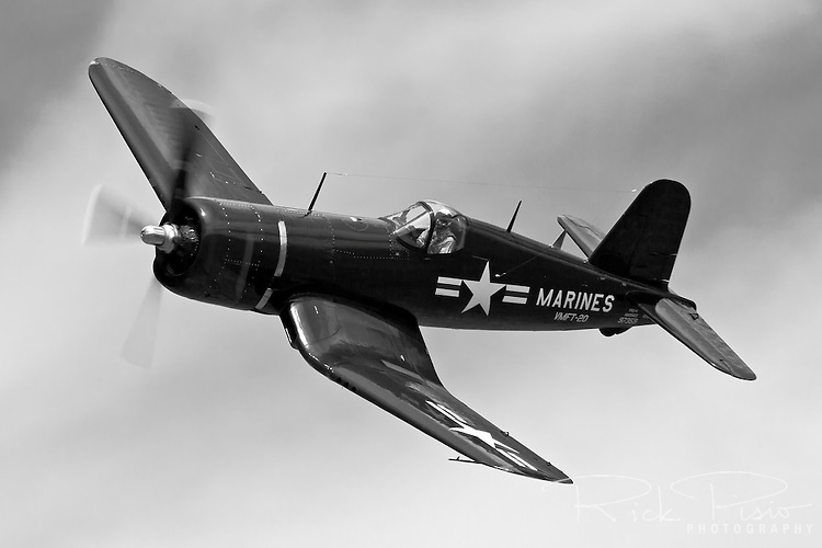 Chance-Vought F4U Corsair in flight