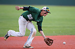 Peyton Cole makes a play for Palo Verde in the NIAA 4A baseball championship game against Basic, in Reno, Nev., on Saturday, May 19, 2018. Palo Verde won 4-2. Cathleen Allison/Las Vegas Review-Journal
