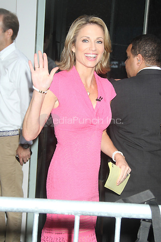 NEW YORK CITY, NY - AUGUST 1, 2012: Amy Robach at ABC studios for an appearance on ABC's Good Moring America. © RW/MediaPunch Inc.