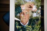 LOS ANGELES, CA. APRIL 9, 2017: Famed photographer Douglas Kirkland at his home in the Hollywood Hills on Sunday, April 9, 2017. CREDIT: Brinson+Banks