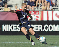 Christie Rampone. The USA defeated Australia, 5-4, in an international friendly at Legion Field in Birmingham, Alabama on May 3, 2008.