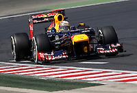 BUDAPESTE, 27 JULHO 2012 - F1 GP DA HUNGRIA -  O Sebastian Vettel da equipe Red Bull durante treino para o GP da Hungria que acontece nesse final de semana em Budapeste. (FOTO PIXATHLON / BRAZIL PHOTO PRESS).