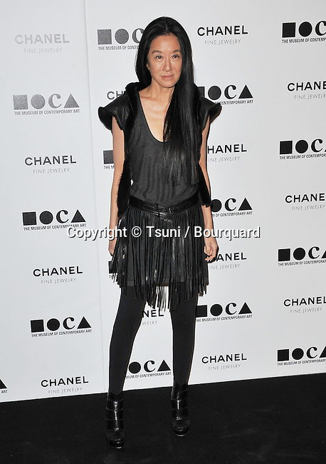 Vera Wang     - Moca Happening Evening 2010 in Los Angeles.