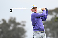 26th January 2020, Torrey Pines, La Jolla, San Diego, CA USA; Brandt Snedeker tees off on the 5th hole on the South Course during the final round of the Farmers Insurance Open golf tournament at Torrey Pines Municipal Golf Course on January 26, 2020.