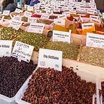 Spices in Ortigia Market, Sicily