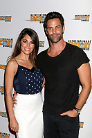LOS ANGELES - JUL 6:  Lindsay Hartley, Jason-Shane Scott at the Garlic And Gunpowder Premiere at the TCL Chinese 6 Theaters on July 6, 2017 in Los Angeles, CA