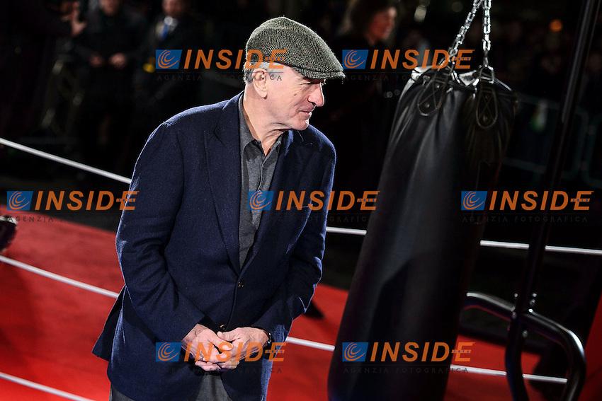 Robert De Niro  <br /> Roma 07-01-2014 Cinema The Space Moderno <br /> Grudge Match - Il Grande Match Premiere<br /> Foto Andrea Staccioli / Insidefoto