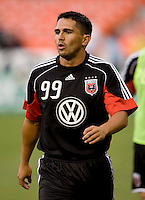 Jaime Moreno. The Seattle Sounders defeated DC United, 2-1, to win the 2009 Lamr Hunt U.S. Open Cup at RFK Stadium in Washington, DC.
