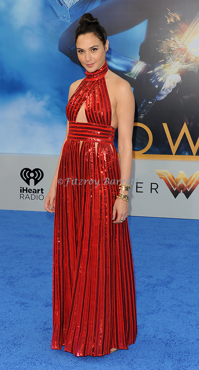Gal Gadot arriving at the Los Angeles world premiere of Wonder Women, held at the Pantages Theatre Hollywood, California on May 25, 2017