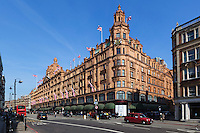 United Kingdom, London, Knightsbridge: Harrods Department store | Grossbritannien, England, London, Knightsbridge: Kaufhaus Harrods