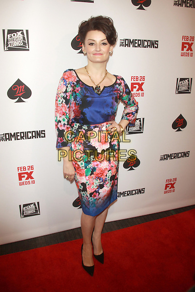 NEW YORK, NY - FEBRUARY 24: Alison Wright at  'The Americans' season 2 premiere at the Paris Theater on February 24, 2013 in New York City, NY., USA.<br /> CAP/MPI/RW<br /> &copy;RW/ MediaPunch/Capital Pictures