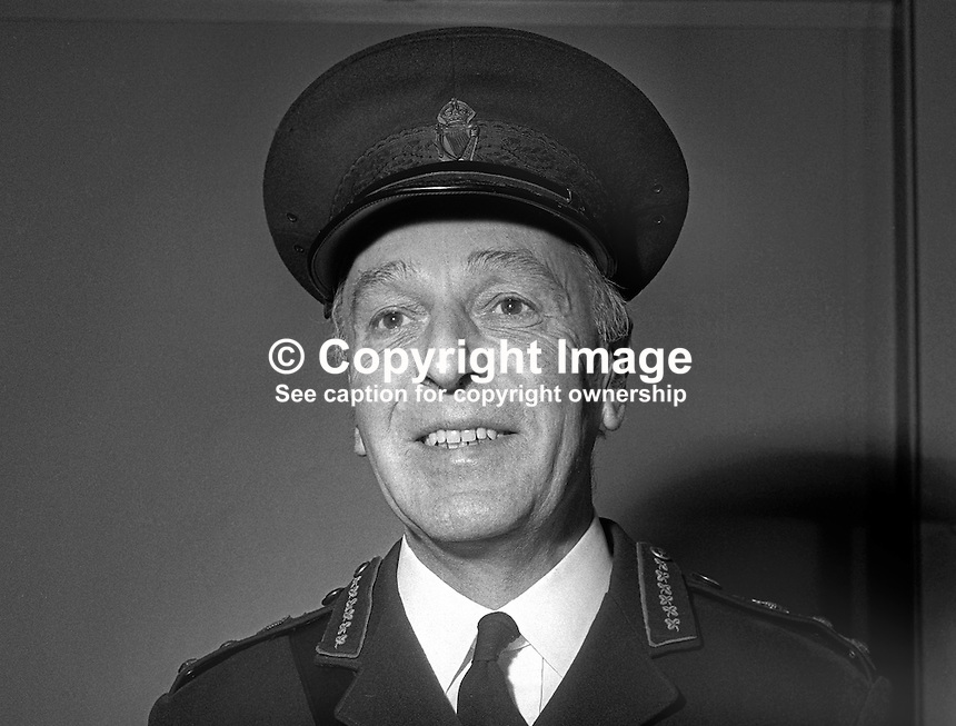 Graham Shillington, Deputy Inspector General, RUC, Royal Ulster Constabulary, from 1st February 1969. Taken January 1969. 1960010002b<br /> <br /> Copyright Image from Victor Patterson, 54 Dorchester Park, Belfast, UK, BT9 6RJ<br /> <br /> Tel: +44 28 9066 1296<br /> Mob: +44 7802 353836<br /> Voicemail +44 20 8816 7153<br /> Email: victorpatterson@me.com<br /> Email: victorpatterson@gmail.com<br /> <br /> IMPORTANT: My Terms and Conditions of Business are at www.victorpatterson.com