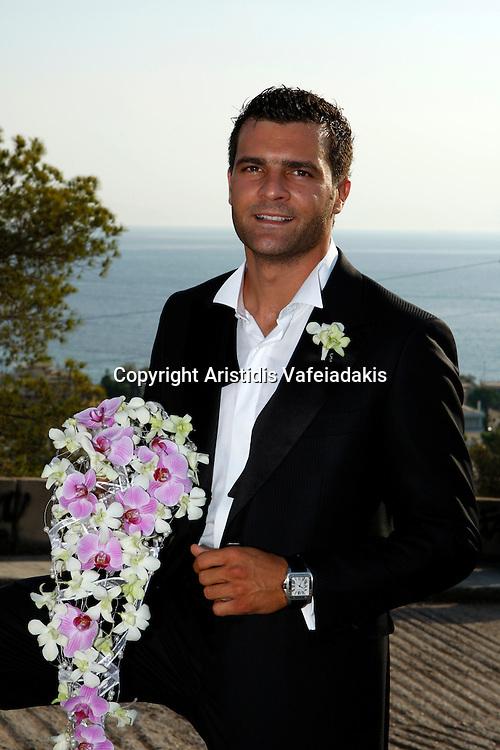 Orthodox wedding in Athens Greece