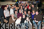 60TH BIRTHDAY: Rose Cronin, Gallows Field, Tralee (seated centre) having great time with family and friends at the Greyhound bar, Tralee on Saturday.