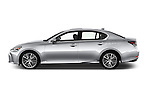 Car Driver side profile view of a 2016 Lexus GS 350 4 Door Sedan Side View