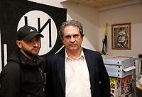 Inaugurazione nuova sede di Forza Nuova a Napoli <br /> con il Segretario Nazionale  Roberto Fiore con Salvatore Pacello