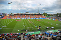 Day one of the 2018 HSBC World Sevens Series Hamilton at FMG Stadium in Hamilton, New Zealand on Saturday, 3 February 2018. Photo: Dave Lintott / lintottphoto.co.nz
