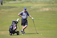 Eddie McCormack (Galway Bay) on the 2nd fairway during Round 2 of the East of Ireland Amateur Open Championship 2018 at Co. Louth Golf Club, Baltray, Co. Louth on Sunday 3rd June 2018.<br /> Picture:  Thos Caffrey / Golffile<br /> <br /> All photo usage must carry mandatory copyright credit (&copy; Golffile | Thos Caffrey)