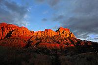 Zion Sunset- Zion National Park, Utah