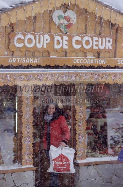 """Europe/France/Rhône-Alpes/38/Isère/l'Alpe-d'Huez: Boutique de décoration """"Coup de Coeur"""""""