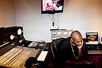 Rapper No Soda in The Trap House, a recording studio in Memphis, Tennessee October 14, 2011.