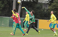 SÃO PAULO,SP,22.07.2016 - FUTEBOL-PALMEIRAS - O goleiro Vagner durante treino técnico na Academia de Futebol, na Barra Funda zona oeste de São Paulo, na manhã desta sexta-feira (22).  (Foto : Marcio Ribeiro / Brazil Photo Press)