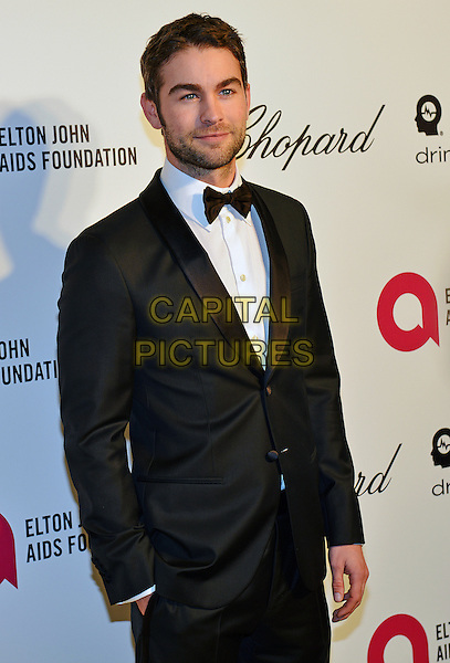02 March 2014 - West Hollywood, California - Chace Crawford. 22nd Annual Elton John Academy Awards Viewing Party held at West Hollywood Park. <br /> CAP/ADM/CC<br /> &copy;CC/AdMedia/Capital Pictures
