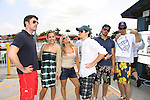 Tom Degnan, Kristen & Eddie Alderson - Terri Conn - Josh Kelly - Austin Peck - Celebrities take a break and enjoy themselves on the pontoon boat - SWSL Soapfest Charity Weekend May 14 & 15, 2011 benefitting several children's charities including the Eimerman Center providing educational & outfeach services for children for autism. see www.autismspeaks.org. (Photo by Sue Coflin/Max Photos)