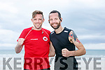 At the Ballyheigue Summer Festival King of the Beach Run on Monday were Chris O'Connor and Paul Noonan
