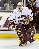 John Muse (Boston College - 1) - The University of Notre Dame Fighting Irish defeated the Boston College Eagles 4-1 on Friday, November 7, 2008, at Conte Forum in Chestnut Hill, Massachusetts.