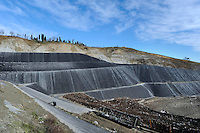 Emilia Romagna, Sogliano al Rubicone, discarica, con produzione di energia da biogas.