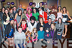 KEY TO THE DOOR: Stephaine Dowling, Ennismor, Listowel (seated 4th right) celebrating her 21st birthday with large group of family and friends at Ruairis bar on Saturday.   Copyright Kerry's Eye 2008