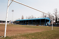 General view of Darlington FC Football Ground, Feethams, Victoria Embankment, Darlington, County Durham, pictured on 4th April 1996