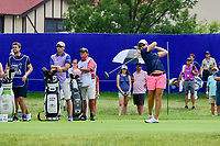 Austin Ernst (USA) watches her tee shot on 10 during Friday's round 2 of the 2017 KPMG Women's PGA Championship, at Olympia Fields Country Club, Olympia Fields, Illinois. 6/30/2017.<br /> Picture: Golffile | Ken Murray<br /> <br /> <br /> All photo usage must carry mandatory copyright credit (&copy; Golffile | Ken Murray)